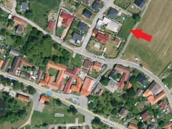 letecká mapa - Pronájem domu v osobním vlastnictví 80 m², Srubec