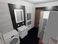 koupelna - Pronájem domu v osobním vlastnictví 80 m², Srubec
