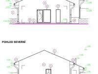 pohled S a J - Pronájem domu v osobním vlastnictví 80 m², Srubec