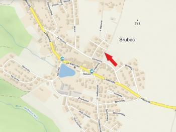 mapa - Pronájem domu v osobním vlastnictví 80 m², Srubec
