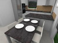 kuchyně - Pronájem domu v osobním vlastnictví 80 m², Srubec