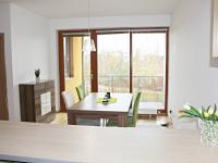 obývací pokoj s kuch. koutem - Pronájem bytu 4+kk v osobním vlastnictví 101 m², České Budějovice