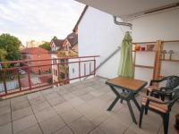 terasa jižní - Pronájem bytu 3+kk v osobním vlastnictví 70 m², České Budějovice