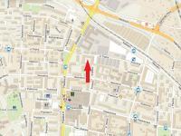 mapa - Pronájem bytu 3+kk v osobním vlastnictví 70 m², České Budějovice