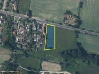 Umístění pozemku (Prodej pozemku 4760 m², Mukařov)
