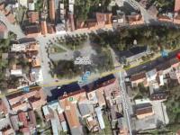 Mapa letecká (Pronájem restaurace 211 m², Kostelec nad Černými lesy)