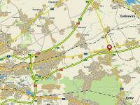 mapa (Prodej komerčního objektu 2311 m², Jirny)