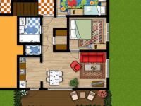 Pro inspiraci - úprava bytu (Prodej bytu 4+kk v osobním vlastnictví 83 m², Velké Popovice)