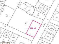 Prodej pozemku 756 m², Praha 9 - Újezd nad Lesy