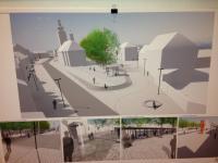 Plánovaná úprava náměstí (Prodej hotelu 2197 m², Kostelec nad Černými lesy)