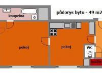 Prodej bytu 2+kk v osobním vlastnictví 49 m², Praha 6 - Dejvice