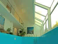 bazén (Prodej domu v osobním vlastnictví 448 m², Šestajovice)