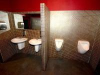 WC - Pronájem obchodních prostor 580 m², Praha 9 - Horní Počernice