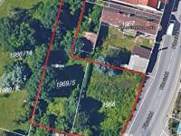Pronájem pozemku 1037 m², Praha 4 - Braník