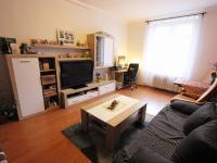 obývací pokoj (Prodej bytu 2+1 v družstevním vlastnictví 60 m², Praha 8 - Libeň)