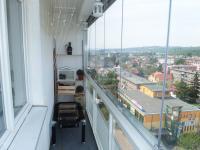 Lodžie (Prodej bytu 3+kk v osobním vlastnictví 66 m², Praha 9 - Hloubětín)