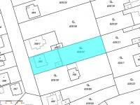 katastrální mapa (Prodej domu v osobním vlastnictví 200 m², Šestajovice)