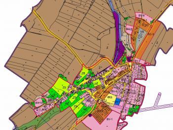 ÚP Vrátkov - hlavní výkres - Prodej pozemku 3673 m², Vrátkov