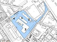 Pronájem skladovacích prostor 528 m², Kolín