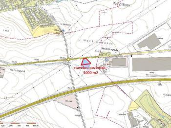 katastrální mapa - Prodej pozemku 5000 m², Šestajovice