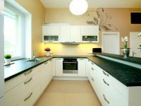 Kuchyňský kout - Prodej bytu 4+kk v osobním vlastnictví 130 m², Praha 9 - Klánovice