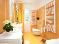 Koupelna - Prodej bytu 4+kk v osobním vlastnictví 130 m², Praha 9 - Klánovice