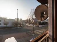 Pohled z okna - Prodej domu v osobním vlastnictví 140 m², Zeleneč