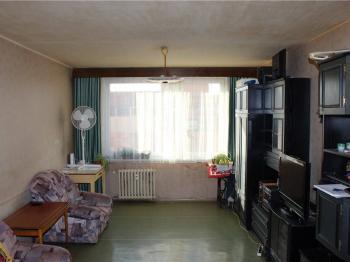 Obývací pokoj - Prodej bytu 3+kk v osobním vlastnictví 67 m², Praha 8 - Troja