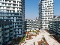 Vnitroblok - Prodej bytu 2+kk v osobním vlastnictví 76 m², Praha 3 - Žižkov