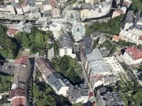 Foto mapa 3D - Prodej pozemku 183 m², Karlovy Vary