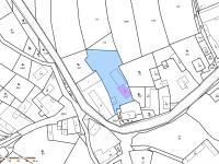 katastrální mapa - Prodej domu v osobním vlastnictví 318 m², Vitice