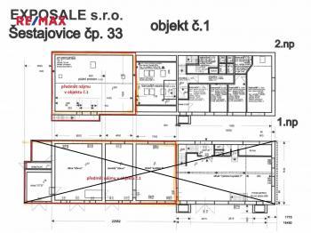 Pronájem komerčního objektu 143 m², Šestajovice