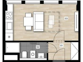 Prodej bytu 1+kk v osobním vlastnictví 25 m², Praha 2 - Vinohrady