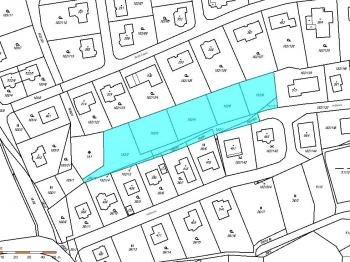 katastrální mapa - Prodej pozemku 4209 m², Velké Přílepy