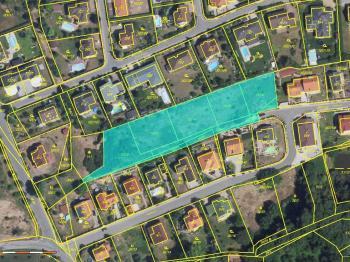 orto foto mapa - Prodej pozemku 4209 m², Velké Přílepy