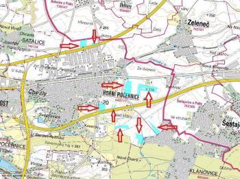 Prodej pozemku 55771 m², Praha 9 - Horní Počernice (ID 114-N06671)