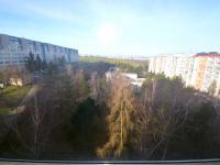 Výhled z lodžie - Prodej bytu 3+1 v osobním vlastnictví 80 m², Praha 10 - Hostivař