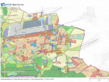 Prodej pozemku 111542 m², Praha 9 - Horní Počernice (ID 114-N06920)
