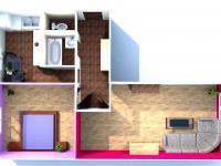 Prodej bytu 2+1 v družstevním vlastnictví, 54 m2, Karviná