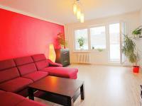 obývací pokoj s lodžii (Prodej bytu 3+1 v osobním vlastnictví 80 m², Ostrava)