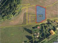 snímek katastrální mapy (Prodej pozemku 1596 m², Baška)