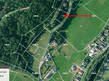 Prodej pozemku 2026 m², Choryně