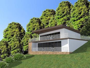 vizualizace - Prodej pozemku 882 m², Lichnov