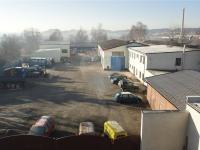 Celkový pohled na areál (Pronájem komerčního objektu 1166 m², Pelhřimov)