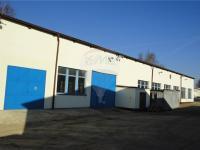 výrobní hala 913 m2  boční pohled  (Pronájem komerčního objektu 1166 m², Pelhřimov)
