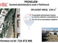 Pronájem komerčního objektu 1166 m², Pelhřimov