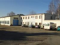 Administrativní budovy a výrobní hala (Pronájem komerčního objektu 1166 m², Pelhřimov)