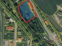 katastrální snímek - Prodej domu v osobním vlastnictví 53 m², Onšov