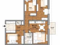 Prodej bytu 4+kk v osobním vlastnictví 91 m², Polná