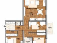 Prodej bytu 4+kk v osobním vlastnictví 112 m², Polná